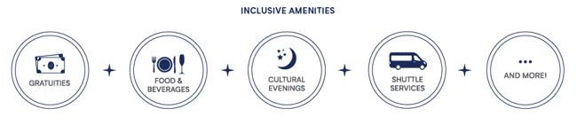 Azamara Inclusive Amenities
