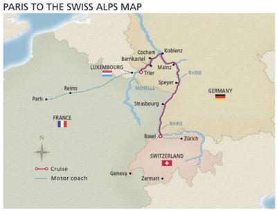 Viking Paris to Swiss Alps