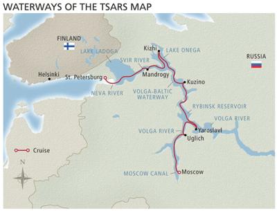 Viking Waterways of the Tsars