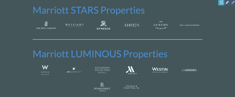 marriott properties